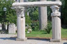 Garden of Archaeology Museum in Çanakkale