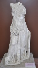 The statue of Aphrodite from Lampsakos (Lapseki), Hellenistic period, Archaeology Museum in Çanakkale