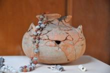 Jewelry from Troy, Archaeology Museum in Çanakkale