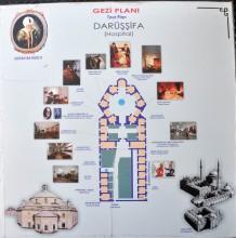 Health Museum in Edirne - Plan of the Hospital