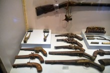 Weapons from the Ottoman period - Etnography Hall - Tarsus Museum