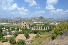 The aqueduct in Aspendos