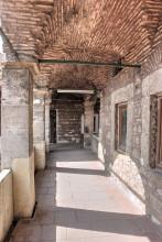 Çukurçeşme Han in Istanbul - upper arcade of the smaller courtyard