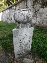 Şahmelek Mosque in Edirne - Ottoman era tombstone