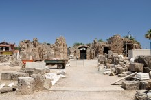 Byzantine basilica in Side