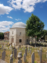 Graveyard of Beylerbeyi Mosque in Edirne after the renovation