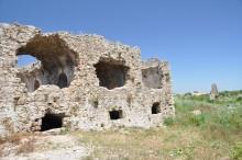 Byzantine hospital in Side