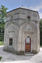 Darülhadis Mosque in Edirne - the mausoleum