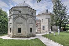 Darülhadis Mosque in Edirne - the mausoleums