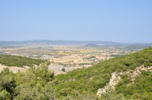 A view from Ecebey Mausoleum