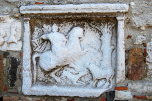 Enez Castle - the Thracian rider relief