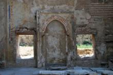 Enez Castle - Hagia Sophia Basilica - Ottoman-era mihrab