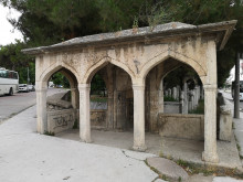 Fatma Sultan Cemetery in Edirne - the namazgah (open prayer area)
