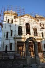 Grand Synagogue of Edirne during restoration (2013)