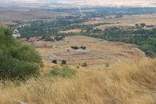Panoramic view of the Lower City of Hattusa