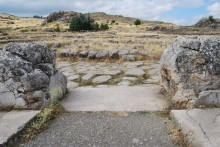 Main entrance to the Grand Temple complex, Hattusa