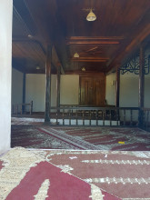 Hüdavendigâr Mosque in Edirne - the interior