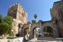 Hadrian's Gate in Antalya