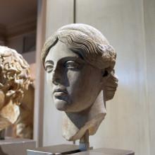 Head of a goddess