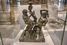 Heracles battling a centaur