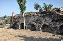 Roman baths in Stratonicea
