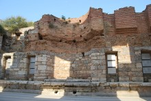 Library of Celsus - the ruined interior