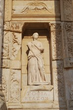 The statue of Sophia (Wisdom) - a modern copy