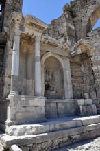 Vespasian monument in Side