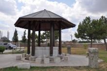 Ablution fountain of Muradiye Mosque in Edirne