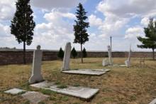 Cemetery of Muradiye Mosque in Edirne