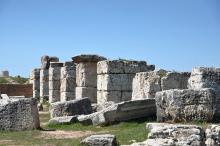 Roman baths in Aizanoi