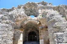 Roman theatre in Side