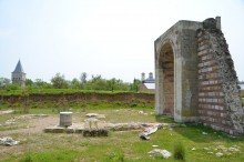 Saray-ı Cedid-i Amire - Felicity Gate and Justice Hall in the distance