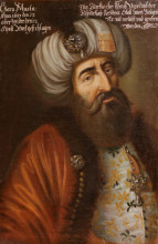 Kara Mustafa Pasha's anonymous portrait from Vienna Museum [Public Domain]