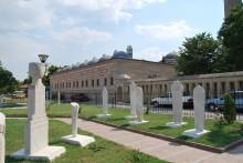 Selimiye Mosque Ottoman Gravestones Exhibition in Edirne