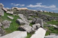 Theatre-stadium complex in Aizanoi