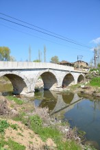 Roman bridge in Aizanoi
