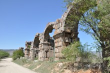 Aqueduct in Antioch of Pisidia