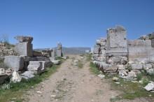 Cardo Maximus street in Antioch of Pisidia