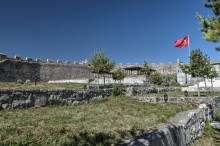 Ardahan Fortress - Picnic Area in the Background