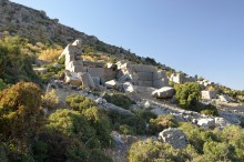 The ruins of Ariassos