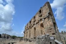 Nymphaeum in Aspendos