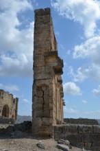 Nymphaeum in Aspendos - side view