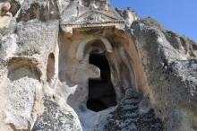 Ayazini, the necropolis