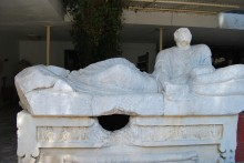 The sarcophagus from Belevi Mausoleum, now in Ephesus Museum in Selçuk