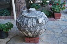 The vase from Belevi Mausoleum, now in Ephesus Museum in Selçuk