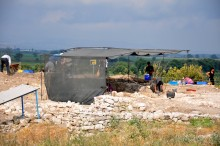 Excavation in Daskyleion, July 2012
