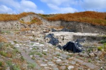 Hellenistic road to acropolis in Daskyleion