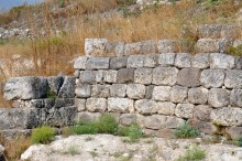 Lydian city wall in Daskyleion