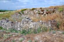Phrygian city wall in Daskyleion